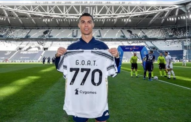 I Don't Chase Records, They Chase Me – Ronaldo Hints At Juventus Exit