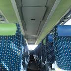 Het interieur van de setra van besseling bus 7