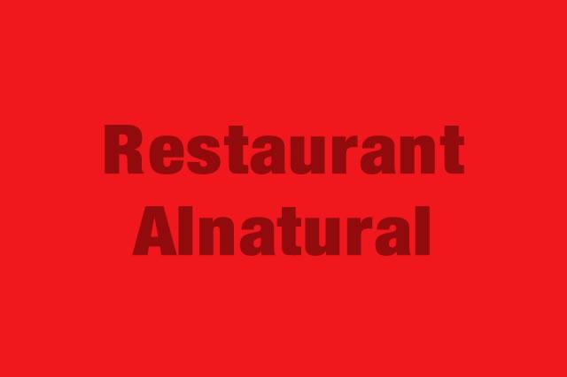 Restaurant Alnatural es Partner de la Alianza Tarjeta al 10% Efectiva
