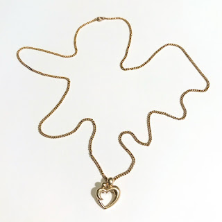 14K & 10K Gold Heart Pendant Necklace