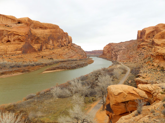 Colorado River near Moonflower Canyon