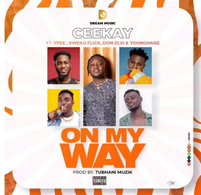 Ceekay recruits - On My Way Ypee, Kweku Flick, Don Elvi, and Younghanz