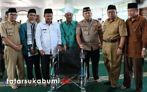 Kunjungi Sukabumi, UU Ruzhanul Ulum Siap Respon Permasalahan Masyarakat