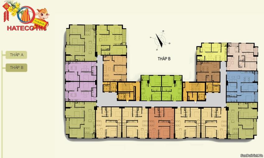 Tòa B chung cư Hateco Hoàng Mai