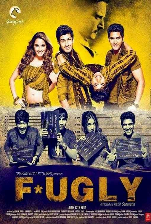 Poster Of Hindi Movie Fugly (2014) Free Download Full New Hindi Movie Watch Online At Alldownloads4u.Com