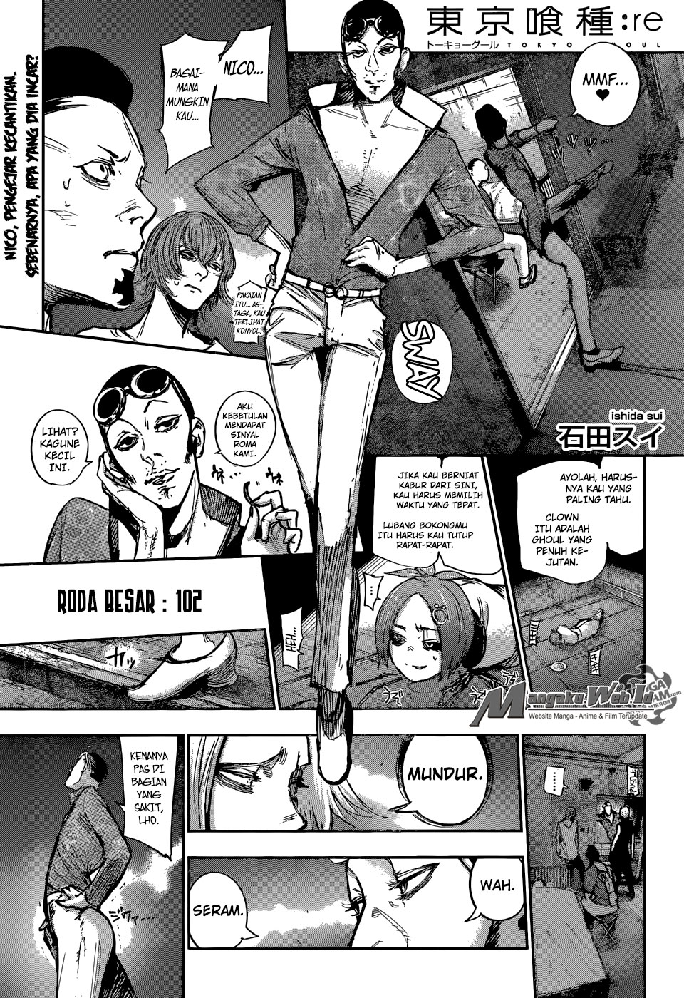 Tokyo Ghoul: Re Chapter 102-2