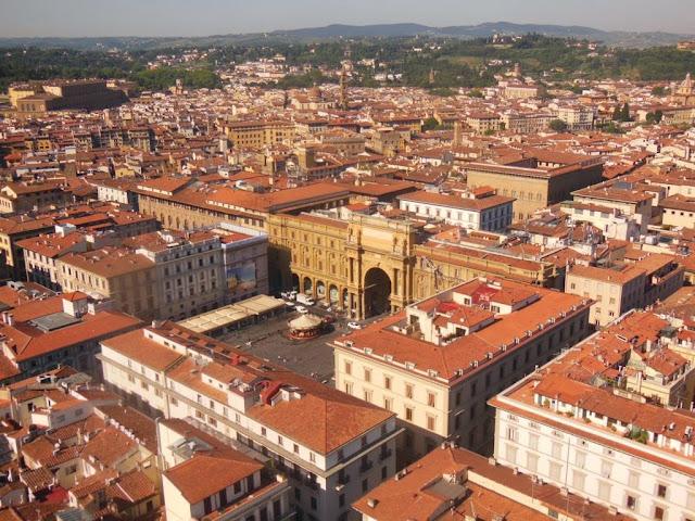Panorámica de Florencia desde el Campanile