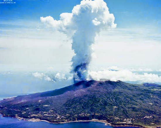 khí độc trên đảo miyakejima