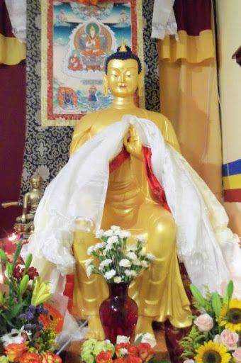 Maitreya Statue at Khamlungpa Center, Jalisco, Mexico, April 2012