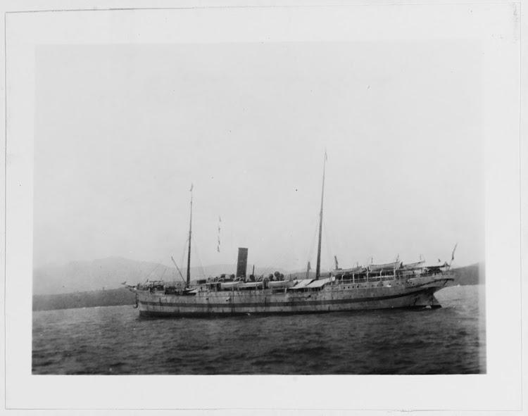 1898. Collection of Naval Cadet C.R. Miller. U.S. Naval History. Santiago de Cuba.tiff
