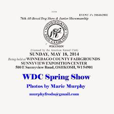 WDC 2014 Spring Show