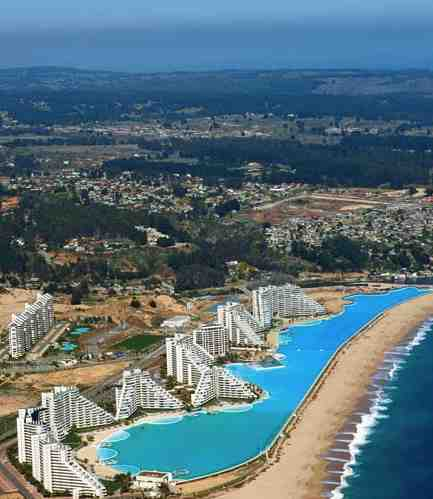 World's Largest Pool at the San Alfonso del Mar Resort