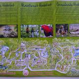 План парка с описанием обитателей