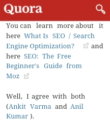 drive traffic using quora