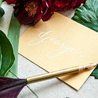 eliza gwendalyn calligraphy