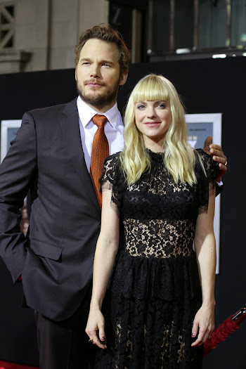 Chris Pratt and His Wife Anna Farris on the Delivery Man Red Carpet #DeliveryManEvent