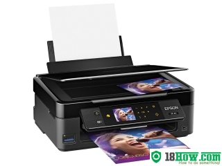 How to Reset Epson XP-411 flashing lights problem