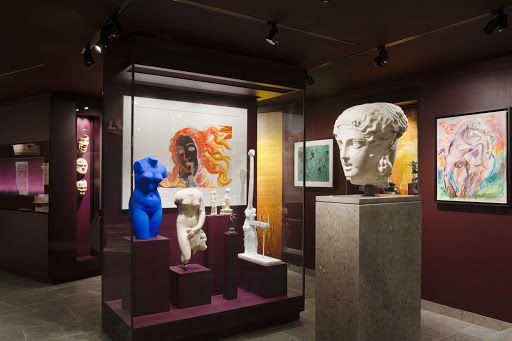 France-Mougins-Muesum-Classique2.jpg - Enjoy classical art in a very modern setting at the Museum of Classical Art in Mougins, France.