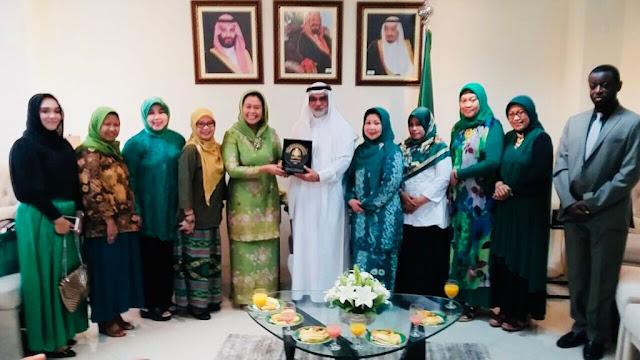 Kunjungan PP Muslimat NU ke Duta Besar Arab Saudi