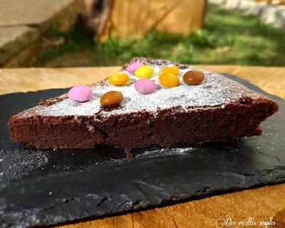 Fondant au chocolat noir corsé