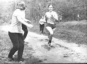 05.1971г. Лесопарк. Наташа Лотарева. Кросс.