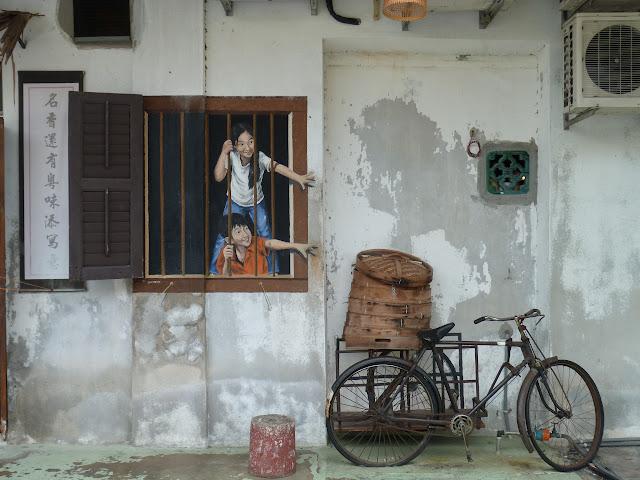 Street art, Georgetown - Penang