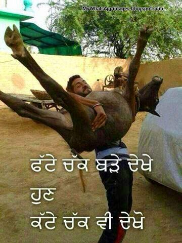 Funny Punjabi Comments On Whatsapp Images - Whatsapp Images