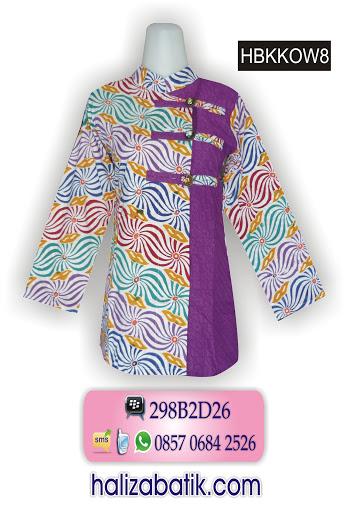 HBKKOW8 Baju Batik Murah, Desain Batik Terbaru, Baju Atasan Batik, HBKKOW8