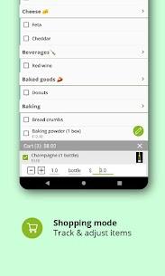 Grocery list, card coupon wallet: BigBag Pro v9.4 5