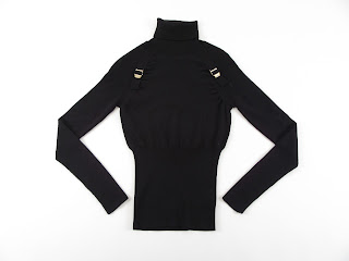 Gucci L/S Turtle Neck With Buckles