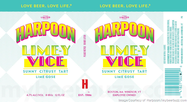 Mybeerbuzz .com Highlights Harpoon UFO Pink Lemonade Shandy & Lime-y Vice