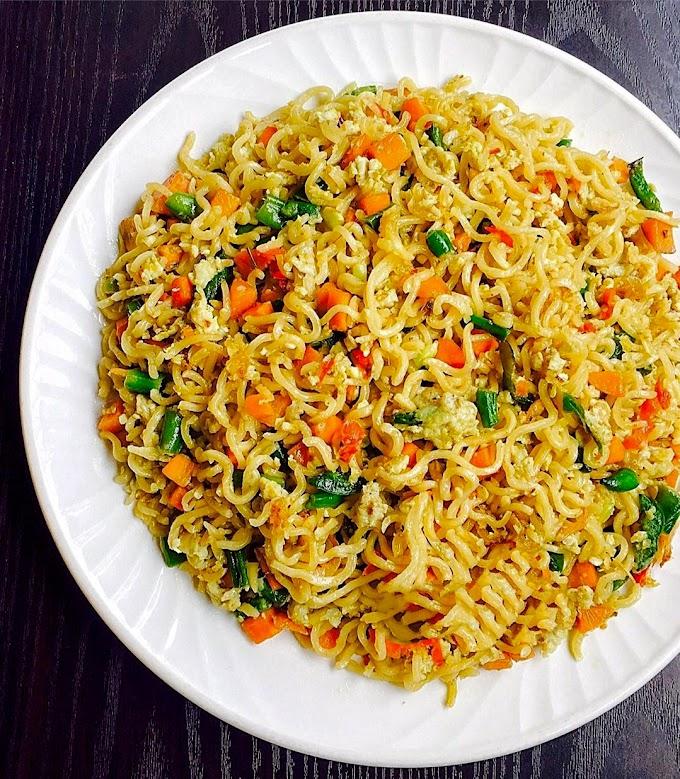 Egg Maggi Noodles Recipe | Breakfast Care