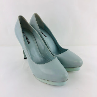 Jil Sander Powder Blue Platforms