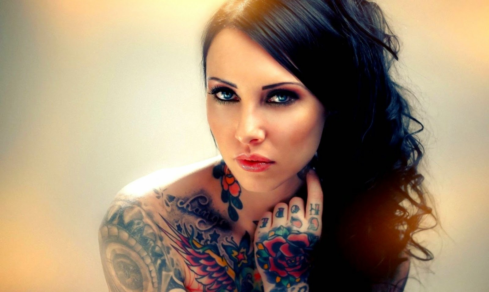 Girls With Tattoo Wallpaperhelenasaurus