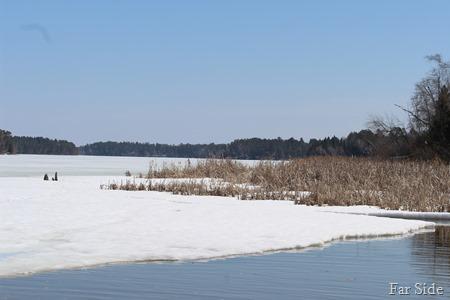 Straight lake