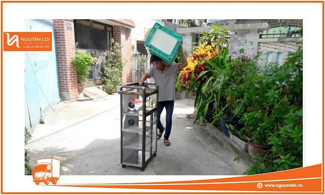 Dịch vụ thuê xe tải chở hàng của Nguyên Lợi