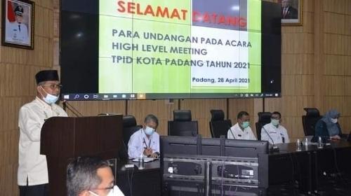 TPID Kota Padang Bertekad Kendalikan Inflasi Jelang Akhir Ramadan dan Pasca Lebaran