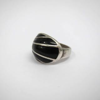 David Anderson Sterling & Enamel Ring