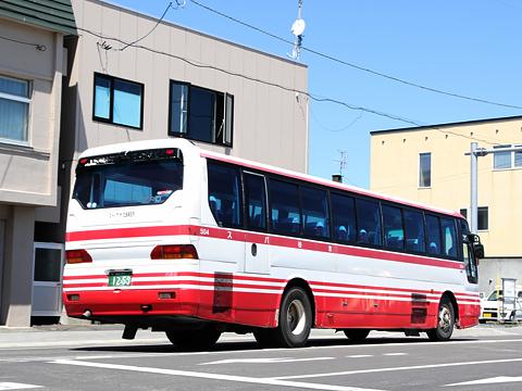 宗谷バス 曲渕線 1259 リア