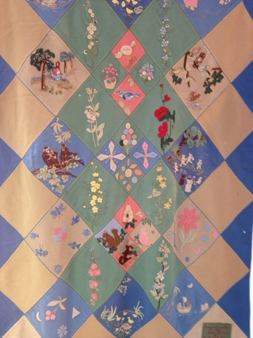 Welsh Quilts Quilt Museum Display Of Cot Quilts