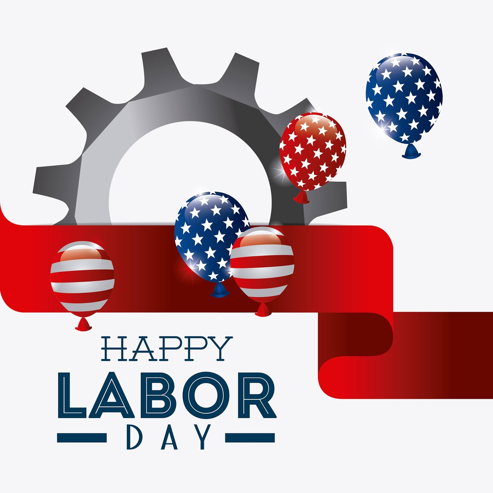 Happy Labor Day Design Free Download Vector CDR, AI, EPS and PNG Formats