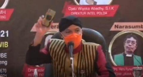 Ganjar Pranowo: Ada Invisible Hand yang Ingin Memecah Belah Indonesia