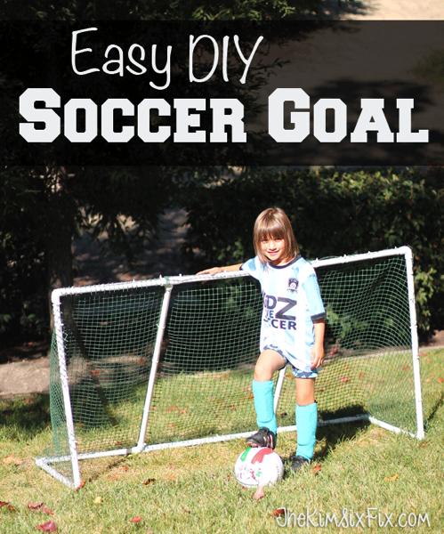 Easy DIY Soccer Goal
