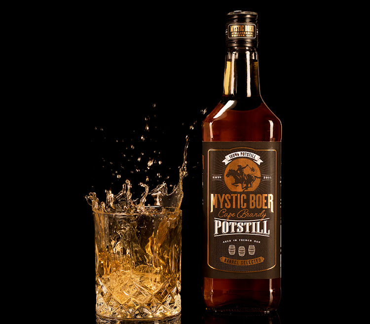 Potstil Brandy