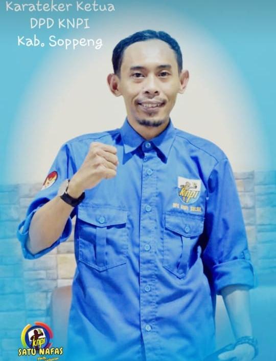 Ketua Karateker KNPI Soppeng Ilham Saiful Sebut KNPI Cuma Satu