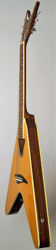 chinese electric acoustic VCO_NT flying v shaped vee Guitar