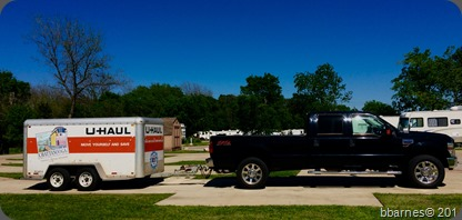 Ready to roll at Aggieland RV Park 04032017