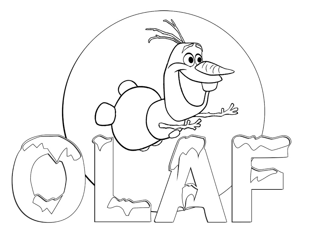 hd olaf in summer coloring pages images coloring pages