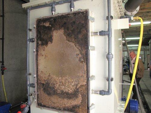 Biomassa, o.a. maïs, bermmaaisel, kippenmest en ander organisch afval worden fijn gemaald en tot gisting gebracht. Dit geeft dan het biogas.