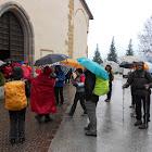 5 e 6 maggio 2012 Cammino Jacopeo d'Anaunia - Da Rumo a Cles